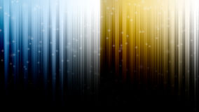 Blue and Gold Abstract Background Stock Photography