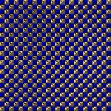 Blue and gold colored squares pattern royalty free stock photography