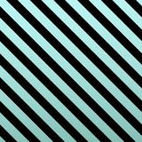 Blue Gold glittering diagonal lines pattern on black background. Classic pattern. Vector design Royalty Free Illustration