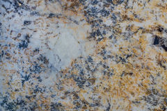Blue, Gold, and White Granite Royalty Free Stock Photos