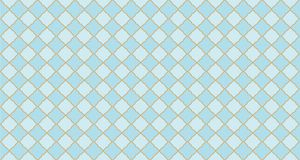 Seamless arabic geometric pattern. Can be use for royal party backdrop.boy baby shower, birthday, father`s day, wedding. Blue and golden background. Little royalty free illustration