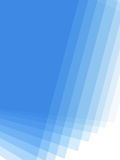 Blue Gradient Background. With Copy Space royalty free illustration