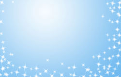 Blue gradient background Royalty Free Stock Photos