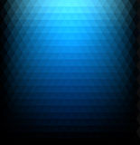 Blue gradient geometric background. Blue gradient background with triangular pattern. Vector paper illustration stock illustration