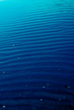Blue gradient sea water Royalty Free Stock Photo
