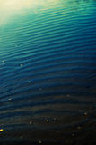 Blue gradient sea water Royalty Free Stock Images