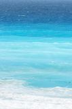 Blue Gradients of Ocean at Caribbean Beach royalty free stock photos