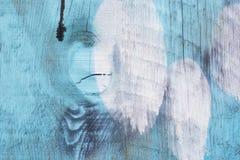 Blue graffiti Royalty Free Stock Photography