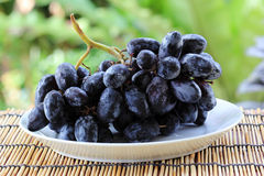 Blue grape fruits Royalty Free Stock Photos