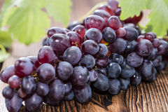 Blue Grapes Royalty Free Stock Photography