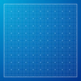 Blue Graph grid paper background Royalty Free Stock Image