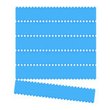 Blue graphic bar Royalty Free Stock Image