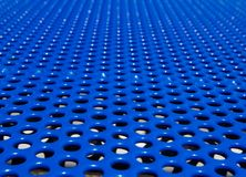 Blue grate Royalty Free Stock Image