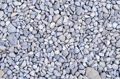 Blue gravel rocks Royalty Free Stock Photography