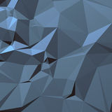Blue gray background of triangles. 3d for decoration and design Stock Photo