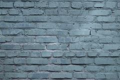 Free Blue Gray Loft Style Background With Building Brick Texture Royalty Free Stock Photo - 165759405