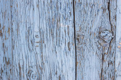 Blue gray paint mottled wooden doors Royalty Free Stock Photography