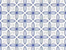Blue and Gray Pattern. On a white background Royalty Free Illustration