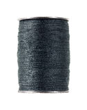 Blue gray thread Royalty Free Stock Image