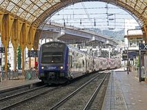 Blue and Gray Train on Station during Daytime Stock Photos