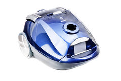 Blue-gray vacuum cleaner Stock Image