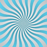 Blue and gray wave rays poster Stock Images