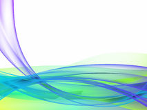 Blue green abstract Royalty Free Stock Photo