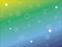 Blue and green abstract background. Blue and green vector abstract background Royalty Free Illustration