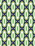 Blue and green abstract background. Seamless Blue and green geometric patterns abstract background Royalty Free Stock Photo