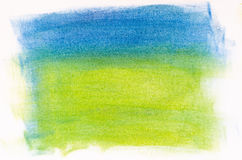 Blue and green abstract painted background Royalty Free Stock Images