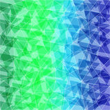 Blue-Green abstract polygonal background. Can be used for wallpa Royalty Free Stock Photos