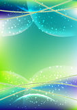 Blue-green background Royalty Free Stock Photos