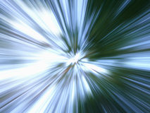 Blue & green background. Zooming effect Royalty Free Stock Photos