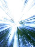 Blue & green background. Blue & green background, zooming effect Royalty Free Stock Image