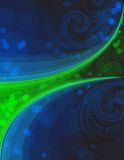 Blue_and_green_background_eps10 Royalty Free Stock Photo