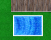 Blue, green and brown background Royalty Free Stock Photos