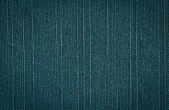 Blue green coarse canvas background Stock Photography