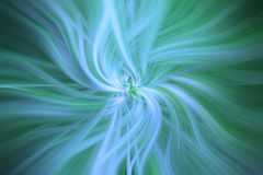 Blue Green colored abstract patterns. Concept Healinh nature Stock Image