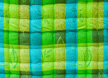 blue-green corrugated Stock Image