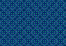 Blue Green Diamond Pattern Stock Photos