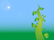 Blue green eco background Royalty Free Stock Photos