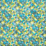 Blue and Green Geometric Design Stock Photo