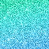 Blue green glitter background with color effect. Vector. Illustration royalty free illustration