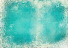 Blue green grunge background Stock Photos