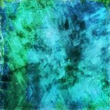 Blue and green Grunge background Stock Image