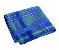 Blue-green handkerchief Royalty Free Stock Images
