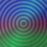Blue and green metallic background design. With concentric circles Stock Photo