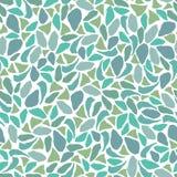 Blue green mosaic. Seamless repeatable mosaic like pattern vector illustration
