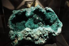 Blue Green Open Geode Royalty Free Stock Photo