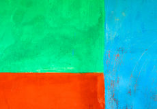 Blue, green and orange abstract background Stock Image